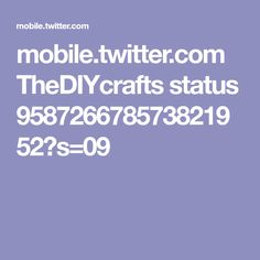 mobile.twitter.com TheDIYcrafts status 958726678573821952?s=09