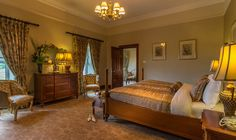 Honeymoon Suite at Glenlo Abbey Hotel Galway.  Luxury 5 star hotel in Galway.  www.glenloabbeyhotel.ie