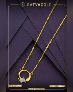 Aureole Chain Pendant is magnificent because of its circular design and gemstones encrusted in square form, this sleek chain and pendant are made of pure trusted gold. . . #satvagold #gold #puregold #kada #ring #rakhi #rakhshabandhan #giftforsister #bracelet #explore #18ct #18k #22k #rosegold #yellowgold #hallmark #hallmarkjewellery #celebration #sister #diamond #gems #beautiful #goldjewellery #jewellerydesign Gold Chain With Pendant, Chain Pendants, Pendant Set, Gold Ornaments, Sister Gifts, Wholesale Jewelry, Gold Chains, Gold Jewelry, Arrow Necklace