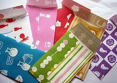 the origami envelope
