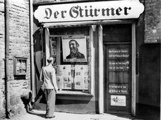 """Anti-Jewish newspaper """"Der Stürmer""""."""