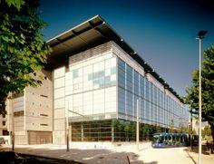 Médiathèque Emile Zola / BMVR Montpellier / 2000 /14 611m² / Architecte: Paul Chemetov et Borja Huidobro
