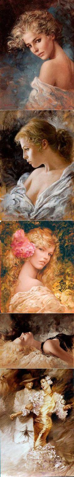 Женщина пахнет ядом...Художник Bruno Di Maio . | искусство | Постила