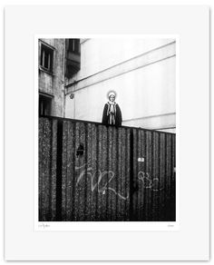 Fine Art Print, Black and White Photography - Archival Print - Mounted, Limited Edition, Contemporary Wall Art - Surreal Saint - Var #11 by Muteimage on Etsy