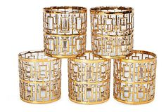 Shoji Glass Tumblers, Set of 5 on OneKingsLane.com