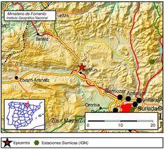 El terremoto con epicentro en Irutzun, Navarra, es sentido en Lekumberri e Iruña, Pamplona