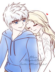 WagtaiLand • [Jelsa] Happy birthday Jack! Jack Frost And Elsa, Rise Of The Guardians, Queen Elsa, Jelsa, Disney And Dreamworks, Crochet Dolls, Happy Birthday, Artwork, Legends