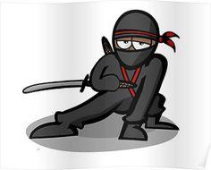 Cartoon Ninja Warrior