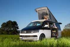 Der SpaceCamper VW T6 Camping-Ausbau - Reisemobil, Wohnmobil, Campingbus und Alltagsfahrzeug in Darmstadt