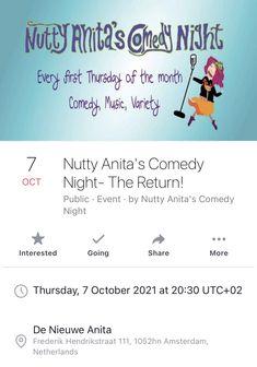 First Thursdays, Comedy Nights, Amsterdam, Public