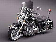 Harley Davidson Road King Classic Police 2011 #harleydavidsonroadkingpolice #harleydavidsonroadkingmotorcycles