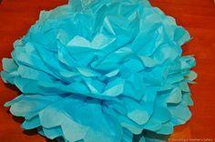 paper tissue flower tutorial