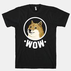 Wow. So amaze. Such fashion. Very shirt. #doge #shibe