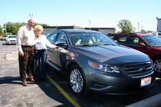 Picture:  Carol Ehrat with Dave Root Congratulations Carol on your 2011 Ford Taurus! Thank you from all of us at Advantage Ford Lincoln.