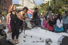 Comparsa Inaugural * Foto: Federico Ríos * Décima Fiesta de las Artes Escénicas
