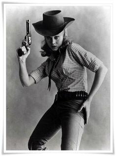 Jane Fonda as Cat Ballou