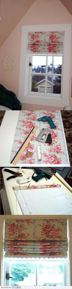 Zó maak je zelf een ophaalgordijn! Foto=tutorial!