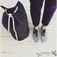 nike air uptempo - Nike Roshe Run Fur Ink Spot Black White Shoes | Shoes | Pinterest ...