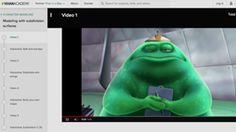 Pixar transmet une série de leçons vidéos pour créer de nouveaux mondes, animer des personnages et raconter des histoires par le biais de l'animation.