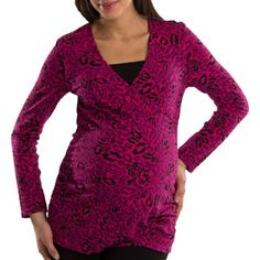 Great Expectations Maternity - pink leopard!