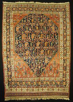 M.Tehrani Afshari Rug 188 x 135 cm 19th Century