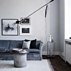 Beautiful Swedish apartment... Image via @myscandinavianhome  #interiordesign #interiorinspo #scandinaviandesign #livingroom