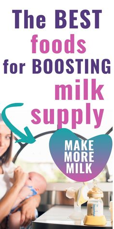 Breastfeeding foods to boost milk supply. Can you improve you breast milk? Yes, by eating a healthy breastfeeding diet. Try adding in some of these foods to boost breastfeeding nutrition. Easy foods to eat to make milk supply better. #milksupply #breastfeeding #boostmilksupply #breastfeedingfoods #birtheatlove Best Food For Breastfeeding, Breastfeeding Nutrition, Breastfeeding Support, Breastfeeding And Pumping, Lactation Foods, Lactation Recipes, Boost Milk Supply, Increase Milk Supply, Grocery Store