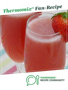 Recipe Strawberry champagne cocktail by Thermomix in Australia, learn to make this recipe easily in your kitchen machine and discover other Thermomix recipes in Drinks. Strawberry Cocktails, Strawberry Champagne, Strawberry Recipes, Apple Cider Cocktail, Cider Cocktails, Champagne Drinks, Passion Parties, Recipe Community, Appetizers