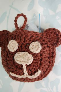 Cute! A little bear that you can put an ice bag in for boo-boos!  also a link to a pretty circle one