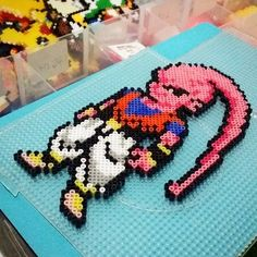 Dragon Ball perler beads by haruo_otani
