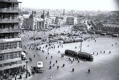 Москва. Площадь Курского вокзала. 1933.
