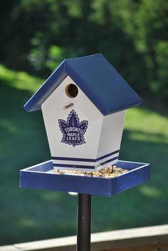 Toronto Maple Leafs Bird Feeder – Buy A Birdhouse