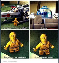 R2-D2 <3 Gotta love Star Wars, even the Lego version