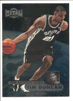 Tim Duncan San Antonio Spurs 1998-99 Skybox Metal Universe Basketball Card 72 -- See this great product.