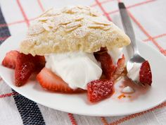 Strawberry Shortcakes recipe from Food Network Kitchen via Food Network