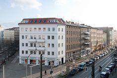 berlin 2008 - ronald s. lauder foundation - jewish - fassade - street view - fassade - kastanienallee