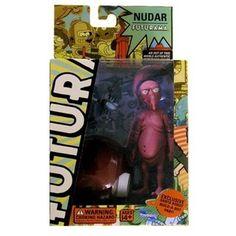 Futurama Series 4 Nudar Action Figure