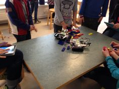 Attack of the LEGO Mindstorms EV3 Robots! Kids fighting each others robots after building them