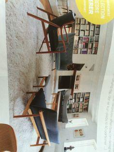 sådan kan man også indrette med rundt tæppe og sofagruppe