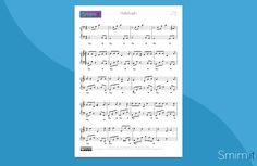 Hallelujah di Leonard Cohen - Spartito per Pianoforte