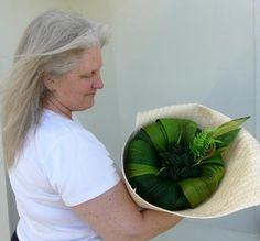 Green Maori Flax Flower Bouquet
