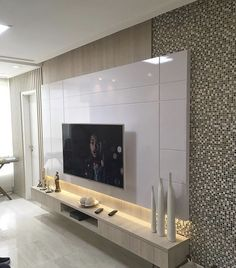 37 amazing tv unit design ideas for your living room 25 Tv Wall Design, House Design, Home Living Room, Living Room Decor, Tv Unit Furniture, Modern Tv Wall Units, Living Room Tv Unit Designs, Tv Wall Decor, Home Decor