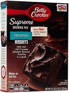 Betty Crocker Supreme Brownie Mix  Frosted  191 oz * To view further for this item, visit the image link.(This is an Amazon affiliate link)