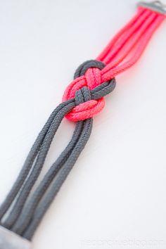 Super Easy Sailor Knot Bracelet for Valentine's Day - Bracelet
