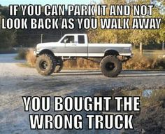It's true. If you don't look back, you did something wrong.
