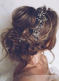 Bridal hair vine crystal and pearl hair vine long hair vine hair vine wedding . - Bridal hair vine crystal and pearl hair vine long hair vine hair vine wedding hair … – # - Wedding Hairstyles For Long Hair, Wedding Hair And Makeup, Up Hairstyles, Pretty Hairstyles, Hair Makeup, Bridal Hairstyles, Hairstyle Ideas, Elegant Hairstyles, Bridesmaid Hairstyles
