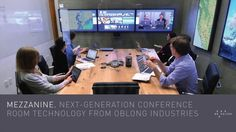 Mezzanine is a high-end, multi-screen collaboration platform for main conference rooms.  HUGE wow factor on this one.