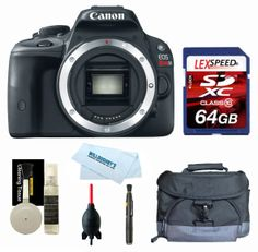 Canon EOS Rebel SL1 Body + Gadget Bag + 64GB (10)