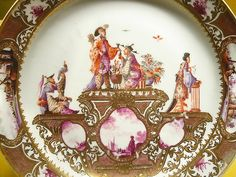 Chinoiserie Meissen plate