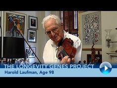 Harold Laufman, Age 98: Longevity Genes Project study participant Harold Laufman, who served as professor of surgery at Albert Einstein College of Medicine and director of the Institute for Surgical Studies at Montefiore Medical Center, talks about his inexhaustible curiosity that fueled his drive to become a combat surgeon, violinist, commercial artist, entrepreneur and author. #aging